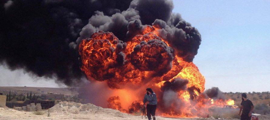 Avia.Pro: Самолеты ВКС РФ третьи сутки наносят удары по протурецким джихадистам в Сирии