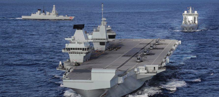 В китайских СМИ предлагают в случае провокаций со стороны британской АУГ «брать пример с русских»
