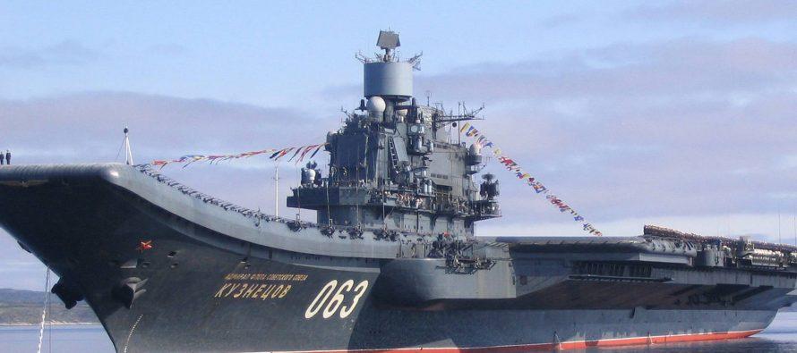 В США засомневались в способности России строить современные авианосцы