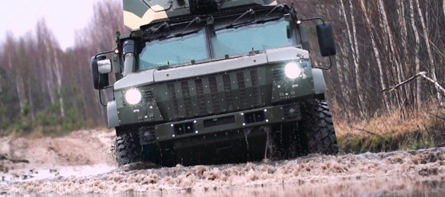 Военный эксперт назвал главные преимущества колесного броневика «Тайфун-ВДВ»