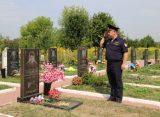В Рязани почтили память милиционера, убитого 22 года назад у «Джинсового мира»