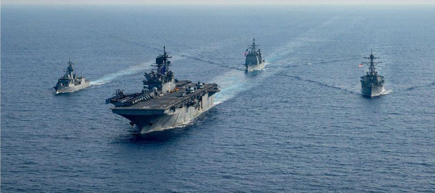 Россия и Китай всего за сутки «уничтожили» весь Королевский флот Великобритании