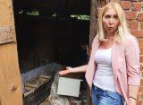 В Рязани в бесхозном сарае нашли гроб