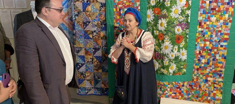 В Рязани открылся первый в России музей лоскутного шитья с мастерской