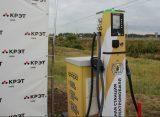 В селе Поляны Рязанской области открылась первая электрозарядная станция
