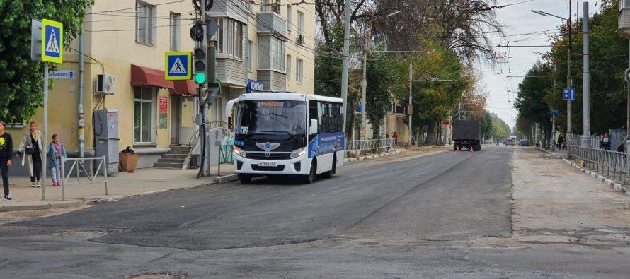В Рязани восстановили движение на одном из участков улицы Новой после ремонта теплотрассы