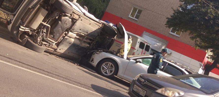 В ДТП на Высоковольтной в Рязани пострадала 67-летняя пассажирка