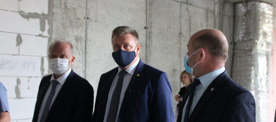 Новый онкодиспансер в Рязани построят на 4 месяца раньше срока