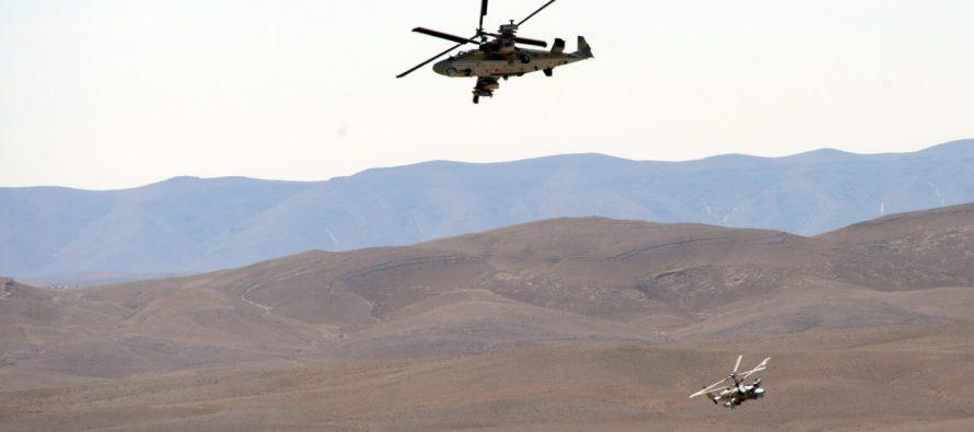 Турецкие военные нанесли ракетные удары по двум российским вертолетам в Сирии