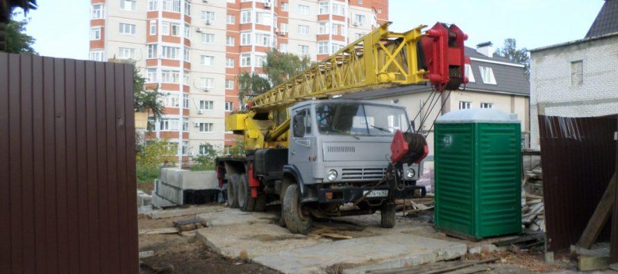 В центре Рязани незаконное строительство возобновилось, несмотря на запрет властей