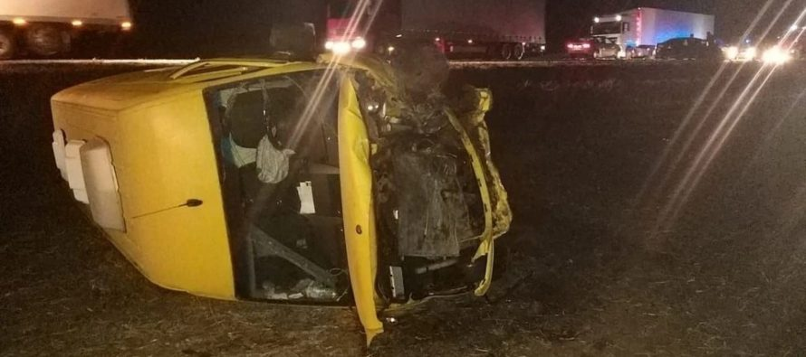 Два водителя и три пассажира пострадали в жестком ДТП в Скопинском районе