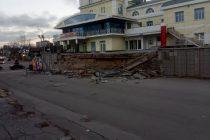 Возле бывшего «Полсинаута» в Рязани произошло обрушение части эстакады